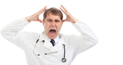 shouting doctor