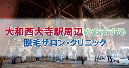 大和西大寺駅周辺のおすすめヒゲ脱毛サロン・クリニック