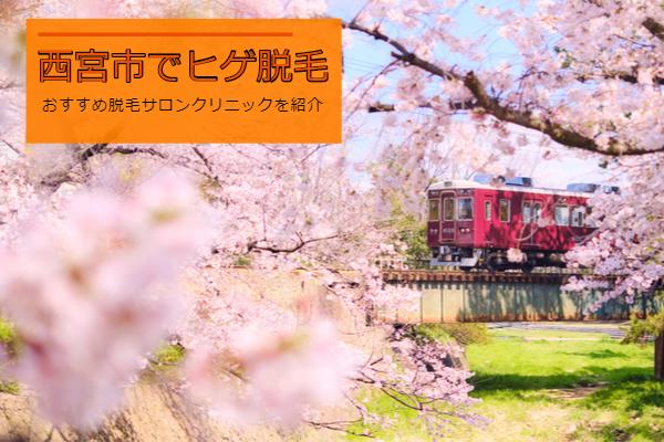 西宮市を走る電車